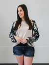 Conquer The World Floral Long Sleeve (S-3XL) - Loft21 Boutique