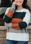 I See You Color Block Sweater