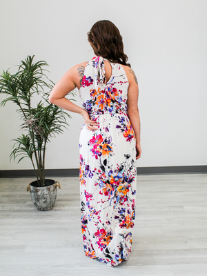 Looking At You Floral Maxi Dress