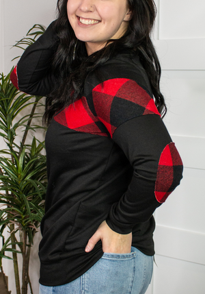 Simple Thoughts Buffalo Plaid Long Sleeve