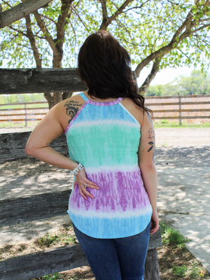 The One You Want Tie Dye Tank (S-XL)