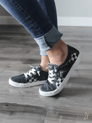 Blowfish Black Sneakers - Loft21 Boutique