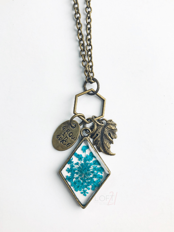 Grow In Grace Necklace - Loft21 Boutique
