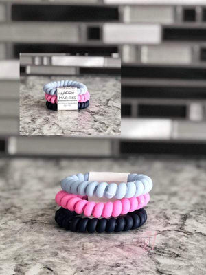 Hotline Hair Ties- Summer Prep Set - Loft21 Boutique