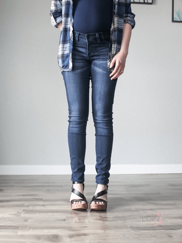 KanCan Dark Wash Maternity Jeans - Loft21 Boutique