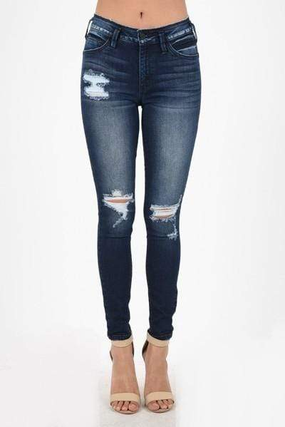 KanCan Distressed Skinny Jeans - Loft21 Boutique