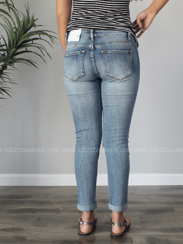 KanCan Girlfriend Fit Jeans - Loft21 Boutique