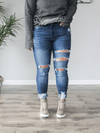 KanCan Mid Rise Ankle Skinny Jean - Loft21 Boutique