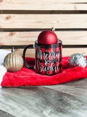 Merry & Bright Mug - Loft21 Boutique