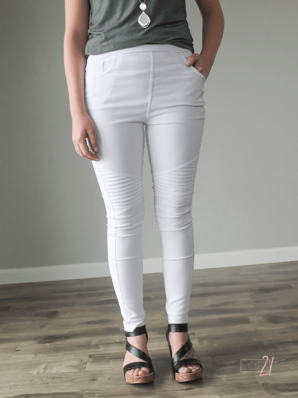 Motto Jeggings- Multiple Colors - Loft21 Boutique