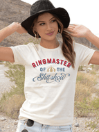 Ringmaster Of The Shit Show Tee