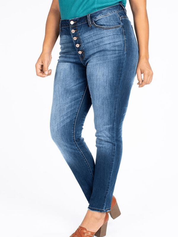 Shannon High-Rise Curvy Jeans - Loft21 Boutique