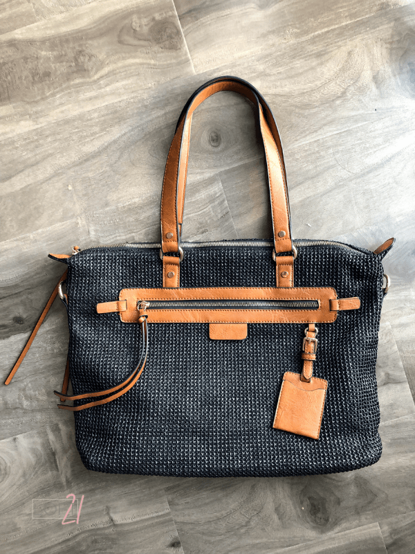 Tiffany Canvas Bag - Loft21 Boutique