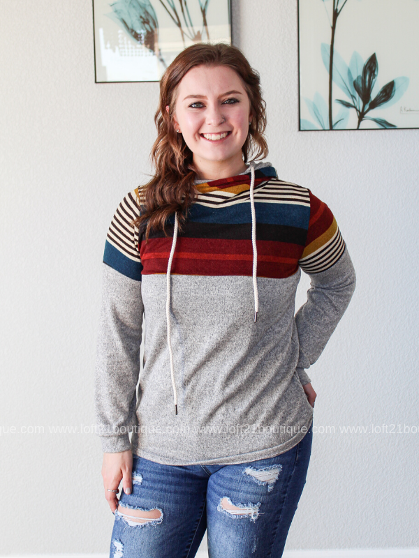 Watch The Sunrise Hoodie - Loft21 Boutique