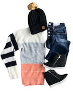 Come As You Are Knitted Sweater