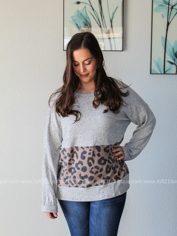 Being Apart Long Sleeve - Loft21 Boutique