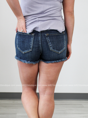 Hazel KanCan High Rise Shorts - Loft21 Boutique