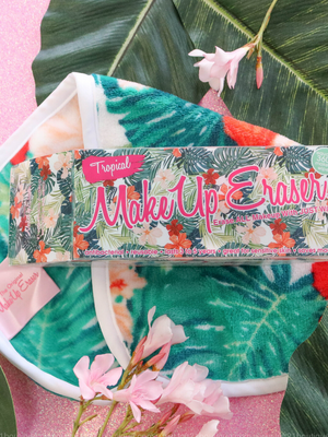 The Original MakeUp Eraser- Tropical Print