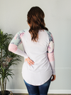 All I Want Floral Long Sleeve - Loft21 Boutique