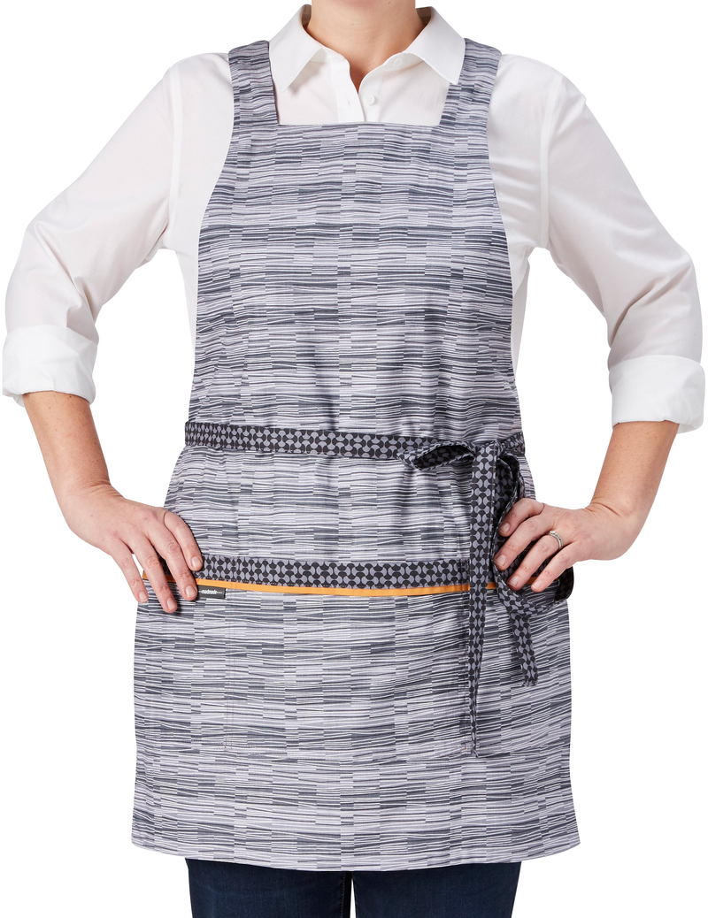 Feather Gild Apron