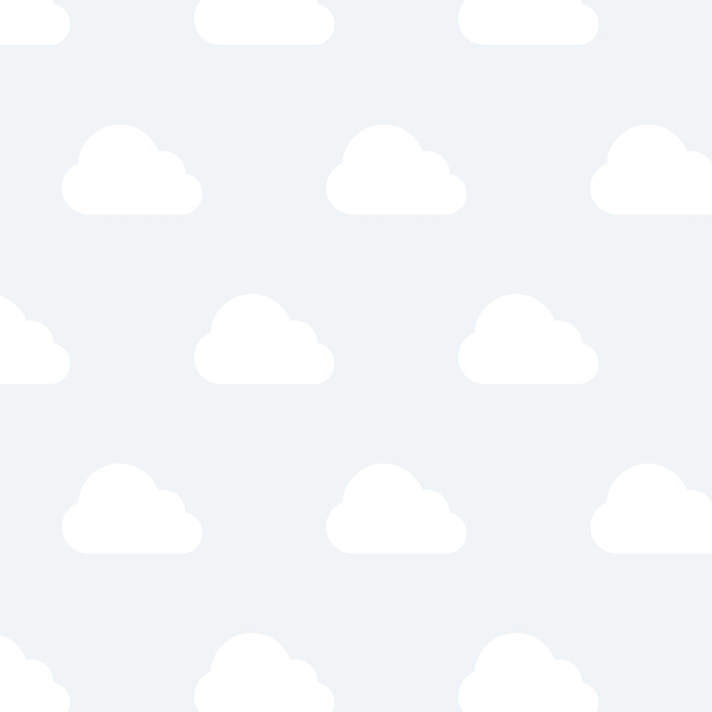 Small Clouds Wall Decals
