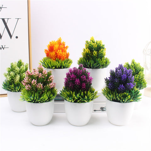 Artificial Small Bonsai with Vase