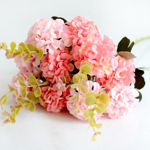 10 Head Artificial Ball Chrysanthemum Silk Flower-home accent-wanahavit-Pink-wanahavit