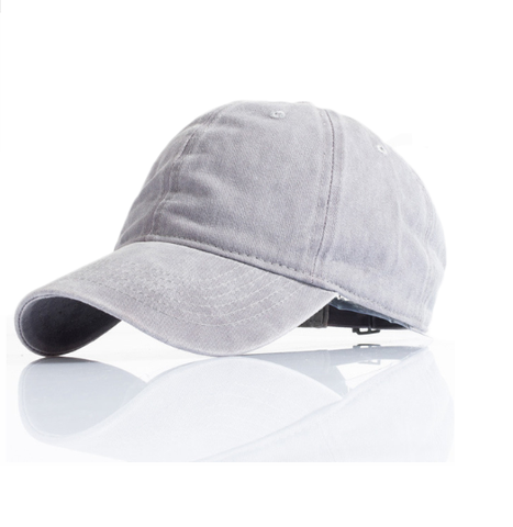 Solid Color Streetwear Baseball Cap-unisex-wanahavit-GRAY-wanahavit