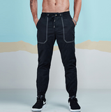 Designer Pocket Cotton Jogger Pants-men fashion & fitness-wanahavit-Black-28-wanahavit