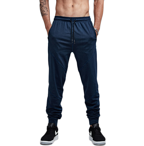 Slim Fitted Solid Color Jogger Pants-men fashion & fitness-wanahavit-black-S-wanahavit