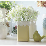 Artificial Mantianxing Rustic Flower Bundle-home accent-wanahavit-white-wanahavit
