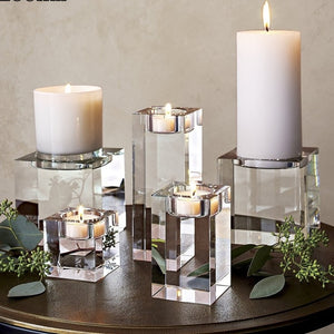 Crystal Religious Decorative Candle Holders-home accent-wanahavit-6CM-wanahavit