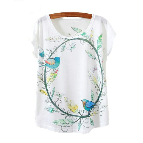 Birds Printed Tees
