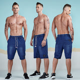 Leisure Casual Jogger Knitted Cotton Shorts