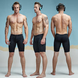 Meshed Workout Slim Fitted Shorts-men fitness-wanahavit-Black-M-wanahavit