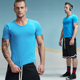 Casual Cotton Crewneck Solid Color Tees-men-wanahavit-SkyBlue-M-wanahavit