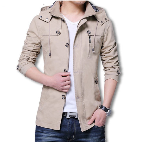 Windbreaker Casual Warm Cargo Jackets