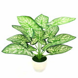 Artificial Green Plants with Vase