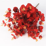 Artificial Eucalyptus Vibrant Colored Leaves-home accent-wanahavit-red-wanahavit