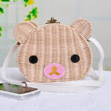 Cute Bear Rattan Shoulder Bag-women-wanahavit-3-wanahavit