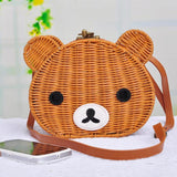 Cute Bear Rattan Shoulder Bag-women-wanahavit-4-wanahavit
