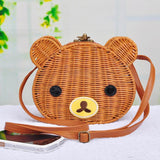 Cute Bear Rattan Shoulder Bag-women-wanahavit-5-wanahavit