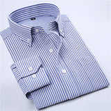 High Quality Striped Twill Long Sleeve Shirt #NJFXX-men-wanahavit-NJF23-S-wanahavit