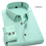 High Quality Polka Dot Long Sleeve Shirt #AMMX-men-wanahavit-AMM205-S-wanahavit