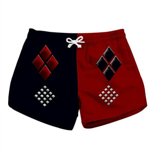 DC Harley Quinn Summer Shorts-women fashion & fitness-wanahavit-1-S-wanahavit