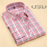 Striped Cotton Long Sleeve Shirt #711XX-men-wanahavit-71103-S-wanahavit