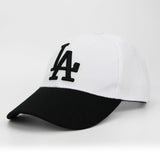 LA Dodgers Embroid Baseball Cap-unisex-wanahavit-White-wanahavit