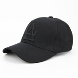 LA Dodgers Embroid Baseball Cap-unisex-wanahavit-Black.Black-wanahavit