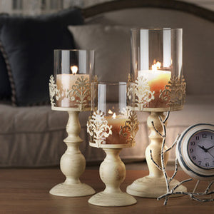 Elegant Votive Candle Holder-home accent-wanahavit-White Small-wanahavit