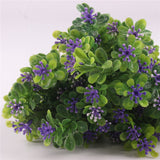 7 Branch Artificial Green Plant Bouquet